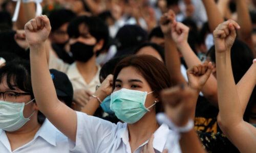 Тайські студенти протестують проти короля Ваджиралонгкорна